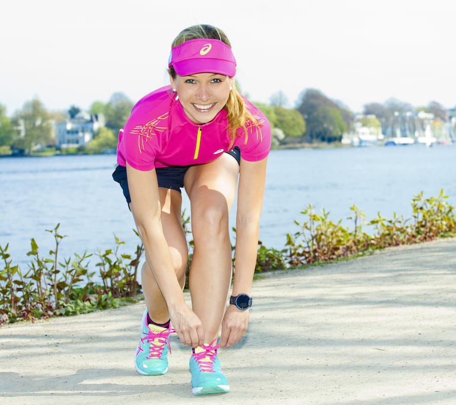 Lauftrainerin Ilka Groenewold aus Hamburg