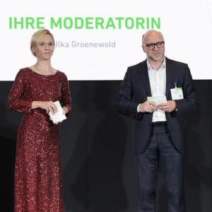 Award Moderatorin Ilka Groenewold