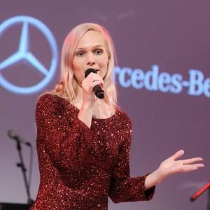 Automobil-Moderatorin Ilka Groenewold für Daimler im Einsatz