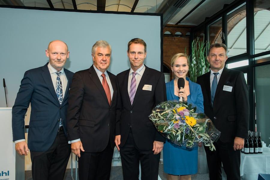 Franke+Pahl Jubiläums Moderation mit Ilka Groenewold in Hamburg