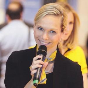 Sie sind auf der Suche nach einer Moderatorin? Buchen Sie Ilka Groenewold.