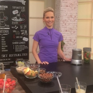 Commercial Smoothie - Health Produktion mit TV-Moderatorin Ilka Groenewold