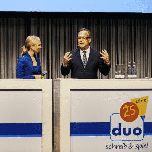 Podiumsdiskussionen mit Moderatorin Ilka Groenewold aus Berlin