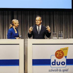 Talkrunde mit Moderator Ilka Groenewold in Berlin