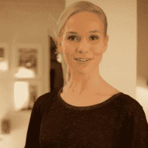 TV-Moderatorin Ilka Groenewold für Tchibo im Einsatz