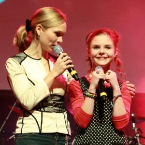 Kinderevent Moderation mit Ilka Groenewold und Carlotta Truman