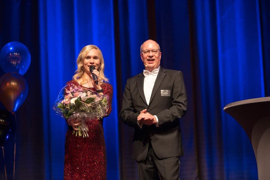 Wertgarantie Jahresabschlussfeier mit Galamoderatorin Ilka Groenewold in Hannover