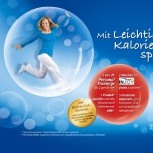 Natreen Werbekampagne mit Model Ilka Groenewold