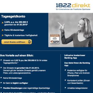 Sparkassen Kampagne mit Werbegesicht Ilka Groenewold