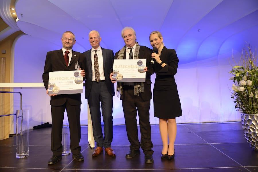 Preisverleihung der Verkehrs Rundschau Gala mit Moderator Ilka Groenewold aus München
