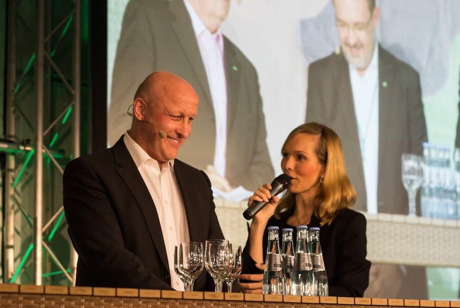 IT-Kongress mit Ilka Groenewold und der Geschäftsführung von gkv-Informatik in Hannover