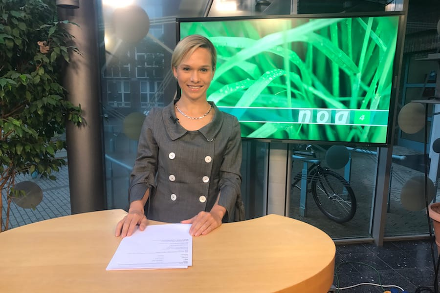 TV-Moderatorin Ilka Groenewold on AIR