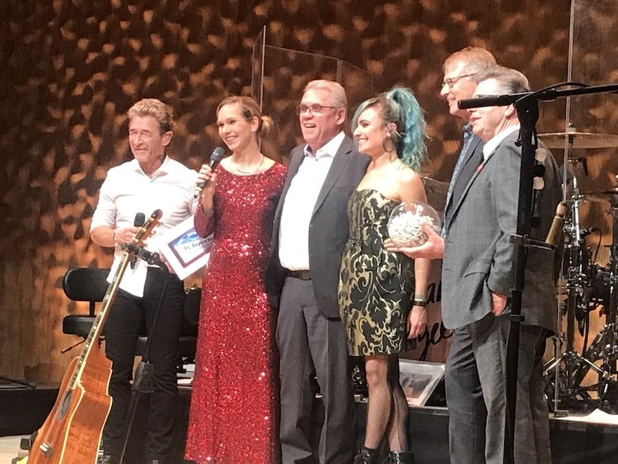 Moderation im Konzerthaus mit Peter Maffay