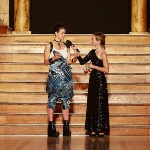 Hamburger Moderatorin führt beim Euro Fashion Award durch den Abend
