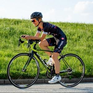 Moderatorin und Triathletin Ilka Groenewold aus Hamburg