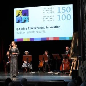 Ilka Groenewold moderiert Jubiläum der Hessing Stiftung