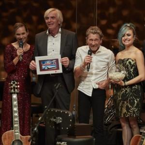 Hamburger Eventmoderatorin Ilka Groenewold in der Elbphilharmonie in Hamburg