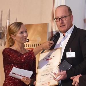 """Münchner Moderatorin Ilka Groenewold beim """"Channel Excellence Award"""" in München"""